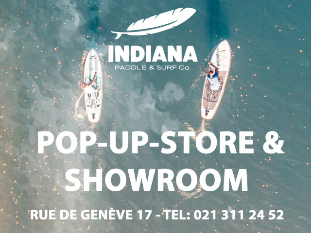 Indiana Pop-Up-Store & Showroom Lausanne