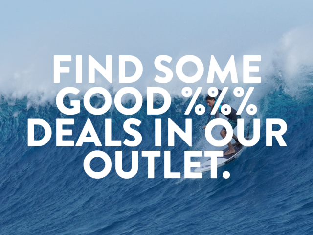 SALE %%% in our Outlet!