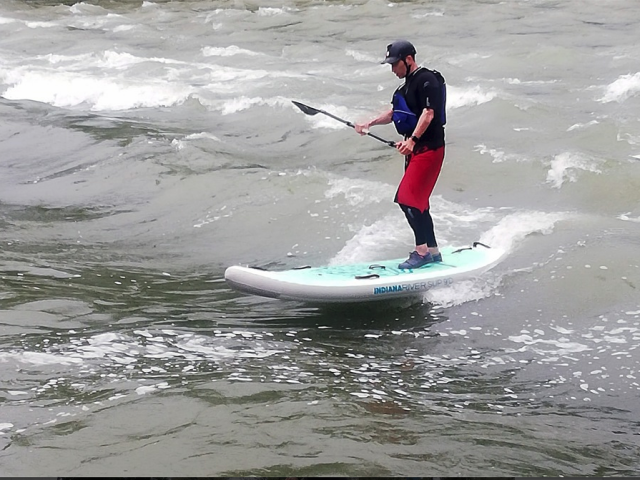 Testbericht Indiana 9'0 River SUP